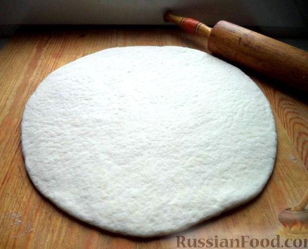 Бездрожжевое тесто для пиццы рецепт с фото
