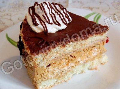 Бисквит воздушный для торта рецепт с фото