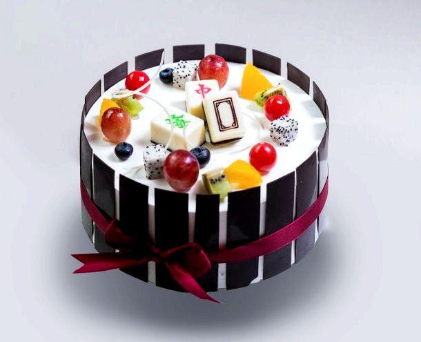 Бисквитный торт с творожным кремом и фруктами рецепт с фото