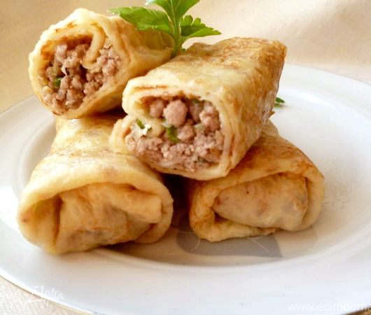 Блинчики с мясом рецепт от юлии высоцкой