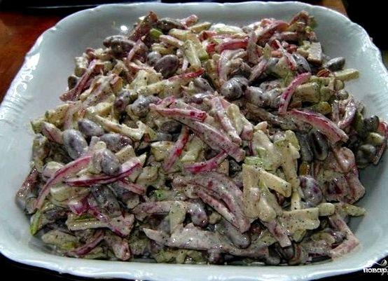 Быстрый и вкусный салат рецепт с фото