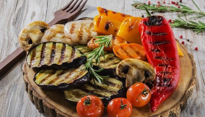 Овощи гриль на сковороде гриль рецепт с фото