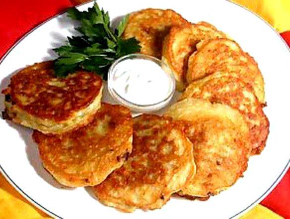 Драники картофельные с сыром рецепт пошаговый с фото
