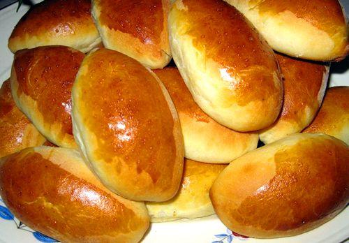 Дрожжевые пирожки с вишней в духовке пошаговый рецепт с фото