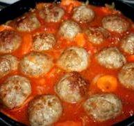 Фрикадельки в томатном соусе с рисом рецепт с фото