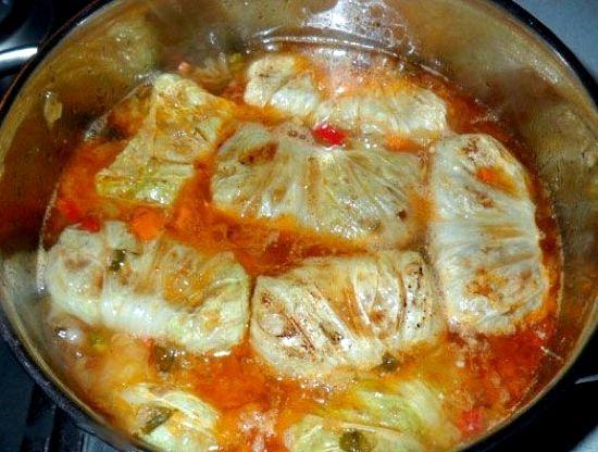 Голубцы рецепт пошаговый рецепт с фото
