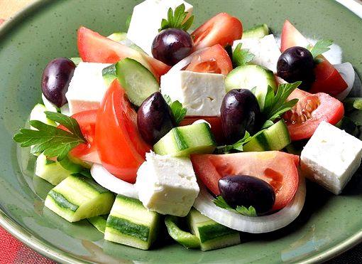 Греческий салат классический рецепт фото