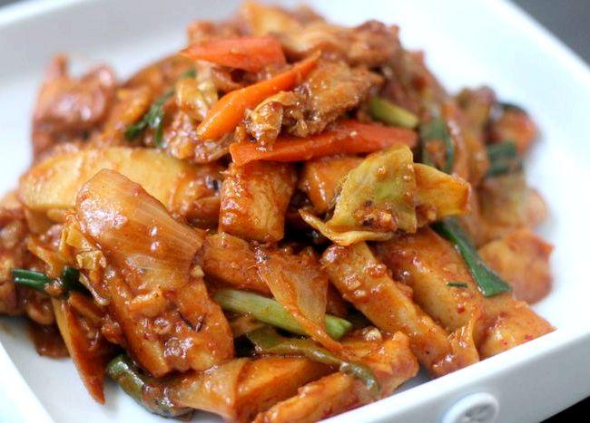 Хе из курицы по корейски рецепт с фото
