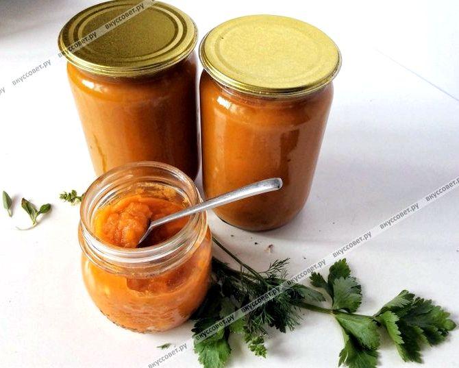 Икра из кабачков на зиму рецепт с фото с томатной пастой