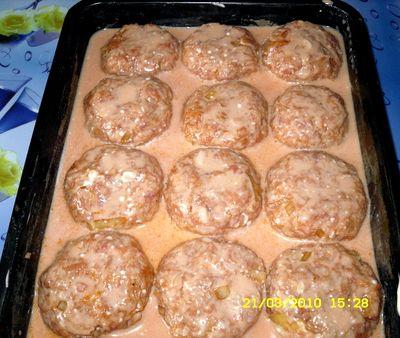 Ёжики в сметанном соусе рецепт с фото