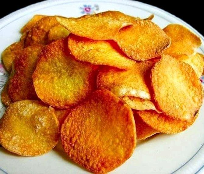 Как сделать чипсы в домашних условиях на сковороде рецепт
