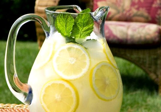 Как сделать домашний лимонад рецепт