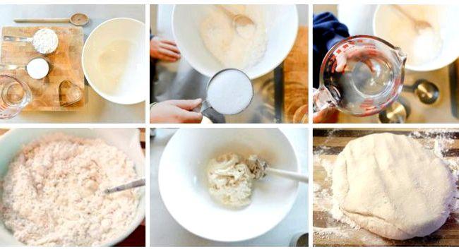 Как сделать соленое тесто для лепки в домашних условиях рецепт
