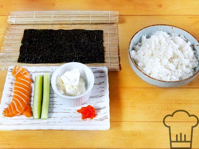 Калифорния роллы в домашних условиях пошаговый рецепт с фото