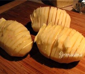 Картофель в духовке рецепт с фото с сыром