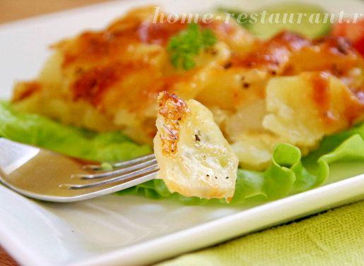 Картофельный гратен рецепт с фото пошагово