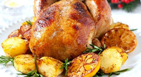 Картошка с курицей в духовке рецепт с фото в рукаве