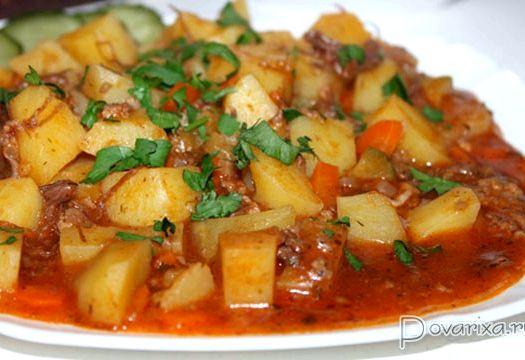 Картошка с тушенкой рецепт в мультиварке