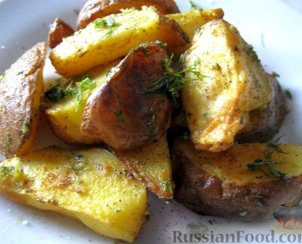Картошка в духовке по селянски рецепт с фото