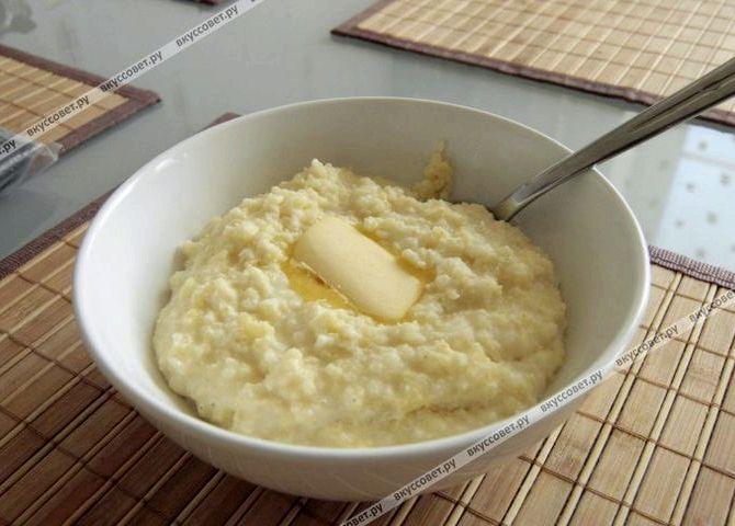 Каша пшенная на молоке рецепт пошагово с фото