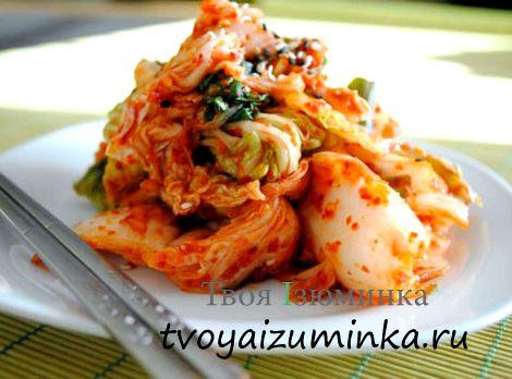Кимчи из пекинской капусты по-корейски рецепт