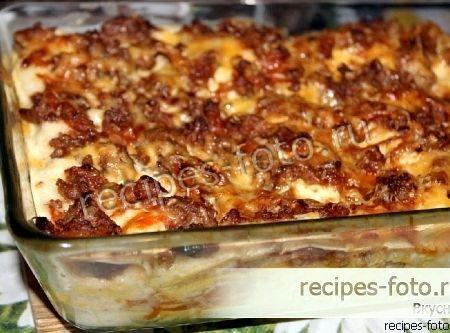 Классическая лазанья в домашних условиях пошаговый рецепт с фото