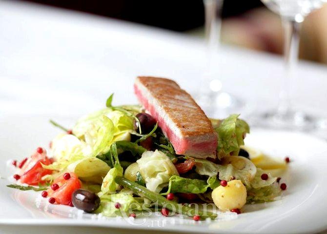 Классический салат нисуаз рецепт с фото
