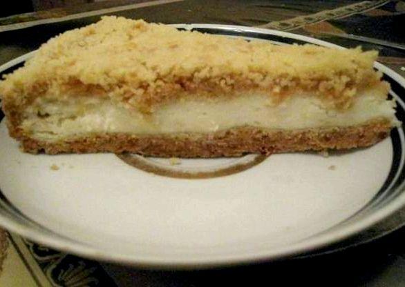 Королевский пирог с творогом рецепт