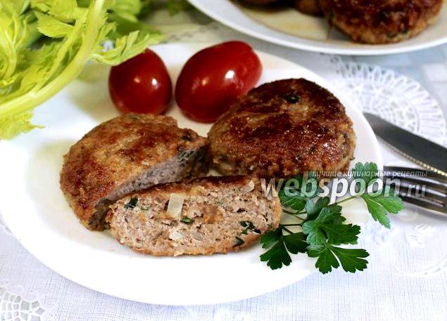 Котлеты из фарша с картофелем рецепт с фото