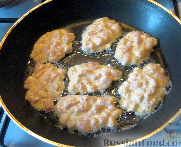 Котлеты из курицы рубленные рецепт с фото