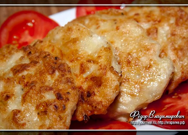 Котлеты рубленные из курицы рецепт с фото