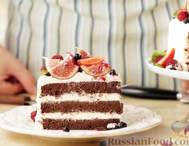 Крем с маскарпоне для торта рецепт с фото