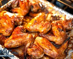 Крылышки куриные в духовке рецепт с фото