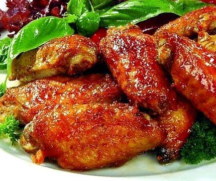Крылышки в кисло сладком соусе рецепт с фото
