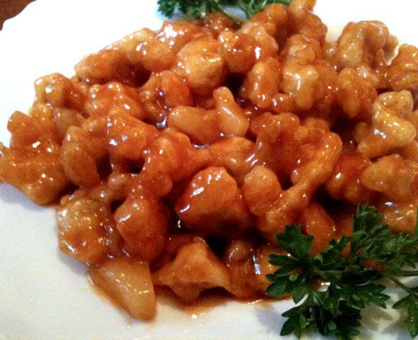 Курица по китайски в кисло-сладком соусе рецепт