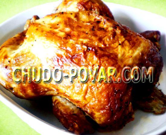Курица в духовке запеченная рецепт с фото