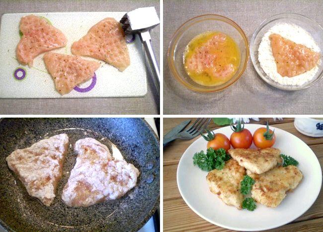 Куриное филе в кляре на сковороде рецепт с фото