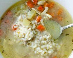 Куриный суп с картошкой и рисом рецепт с фото