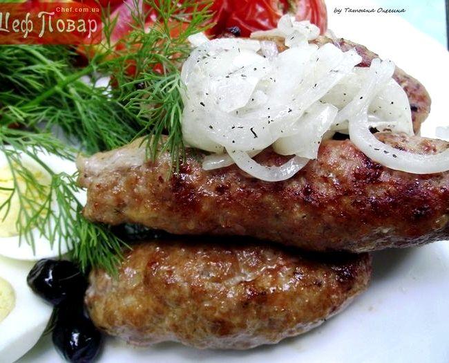 Люля-кебаб из свинины на мангале рецепт с фото