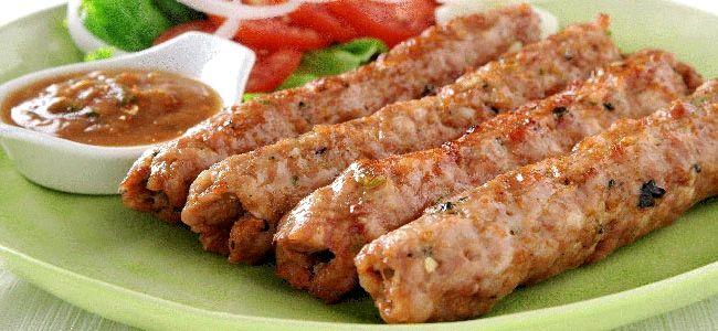 Люля-кебаб рецепт из курицы в духовке рецепт с фото