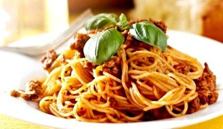 Макароны по флотски рецепт с фаршем и томатной пастой