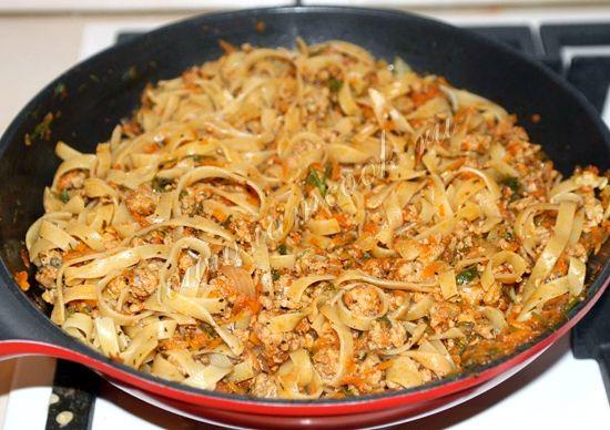 Макароны по флотски рецепт с фаршем с томатной пастой