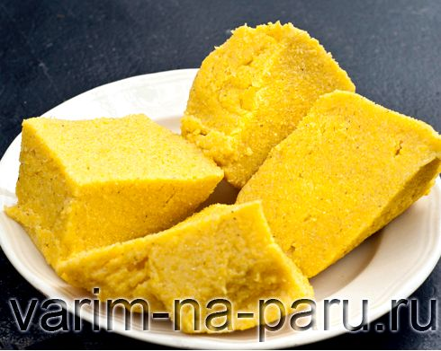 Мамалыга из кукурузной крупы рецепт