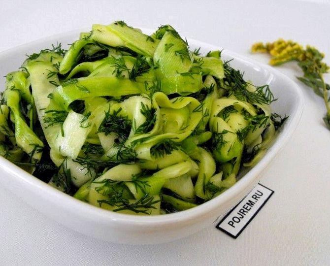 Маринованные кабачки рецепт быстрого приготовления