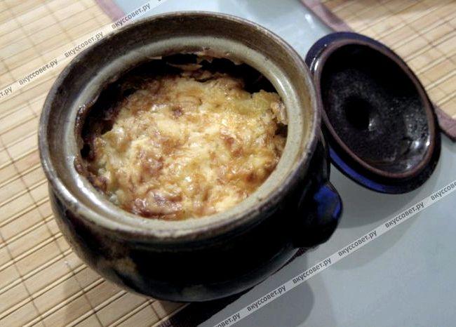 Мясо в горшочках с картошкой в духовке пошаговый рецепт с фото