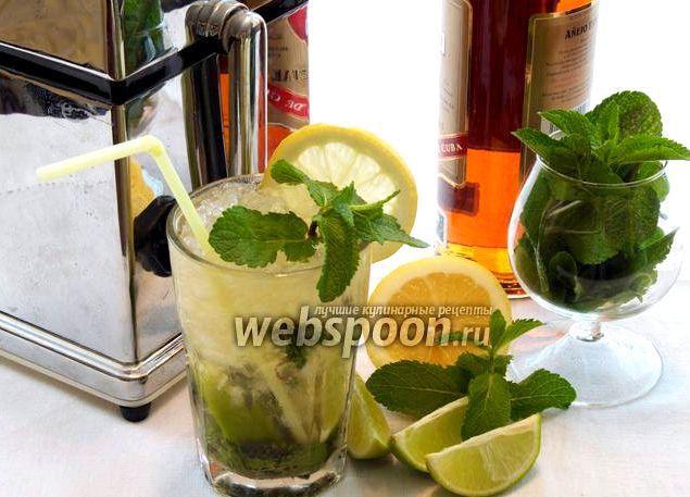 Мохито безалкогольный со спрайтом рецепт
