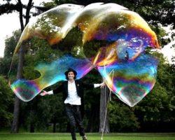 Мыльные пузыри в домашних условиях без глицерина рецепт