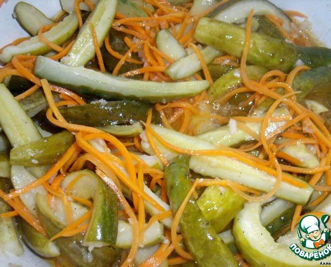 Огурцы по-корейски на зиму рецепт с морковью