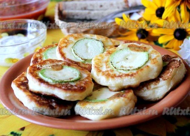 Оладьи из кабачков на кефире пышные рецепт