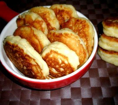 Оладьи на кефире рецепт с фото пышные с яблоками